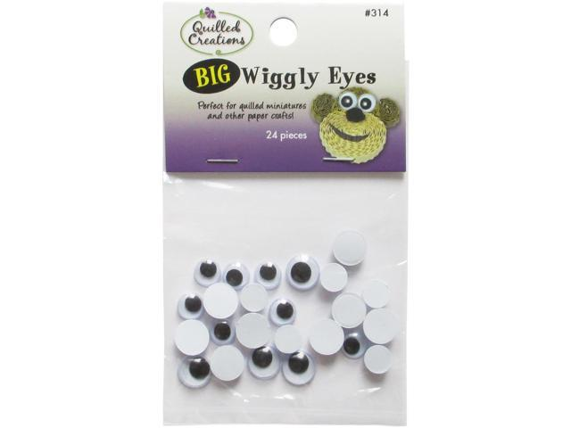 Big Wiggly Eyes 24/Pkg-