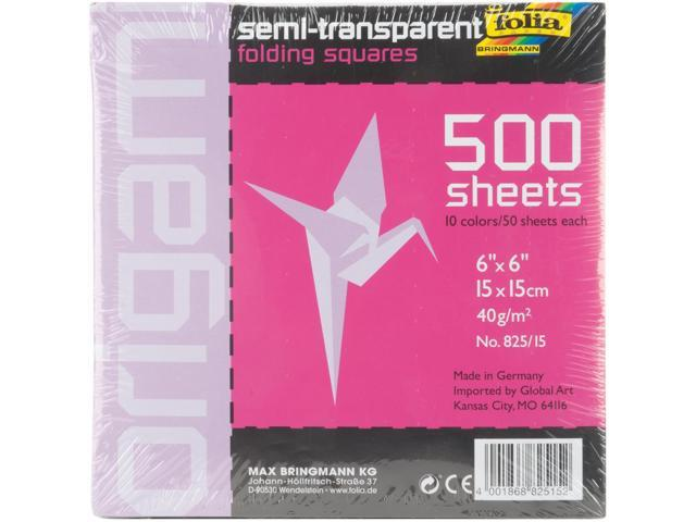 Folia Transparent Origami Paper 6