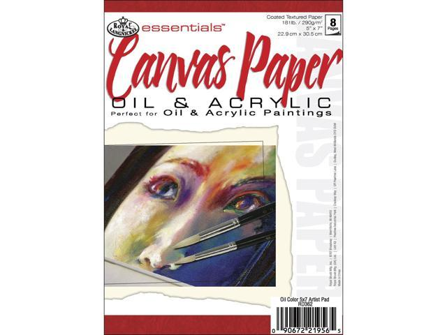 Essentials Canvas Paper Pad 5