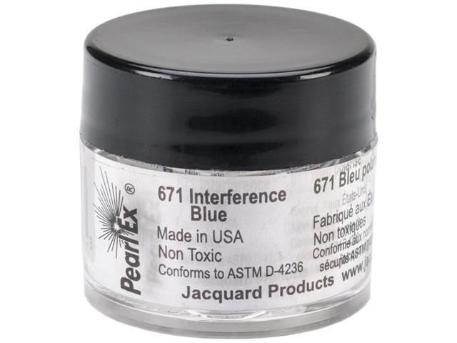 Jacquard Pearl Ex Powdered Pigments 3g-Interference Blue