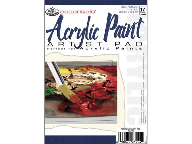 Essentials Acrylic Paint Paper Pad 5