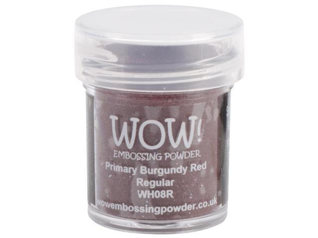 Wow Embossing Powder WOW-WH08R 15ml-Primary Burgundy Red