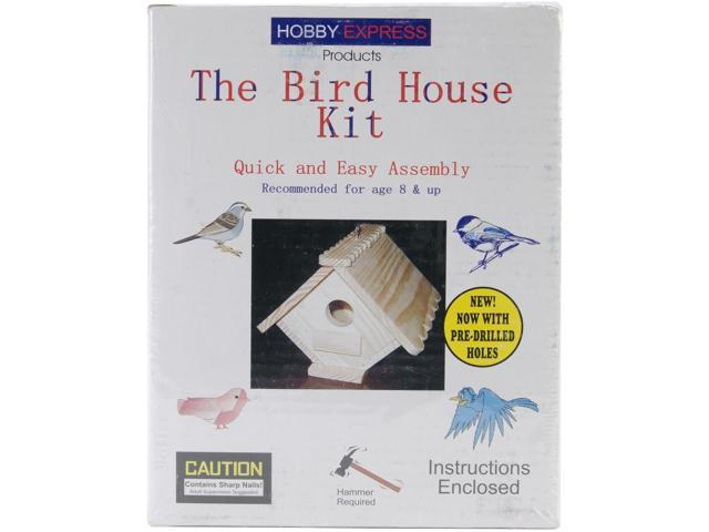 Pine-Pro Hobby Express Bird House Kit   60002