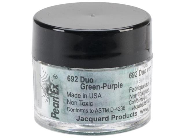 Jacquard Pearl Ex Powdered Pigments 3g-Duo-Green & Purple