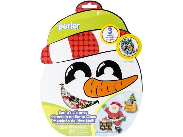 Perler Fun Fusion Fuse Bead Activity Kit-Santa's Chimney