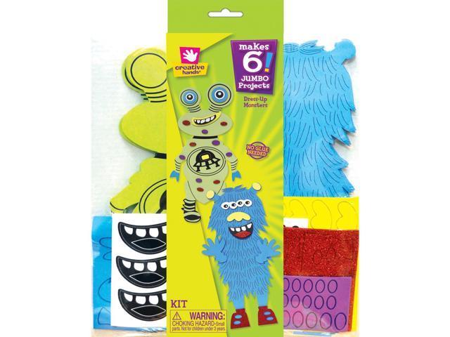 Foam Dress Up Kit - Makes 6-Monster