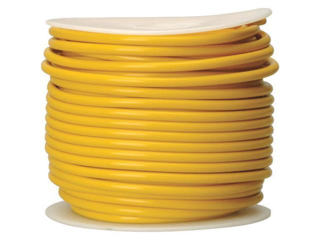 Woods Ind. 10-100-14 Primary Wire-100' 10GA YEL AUTO WIRE