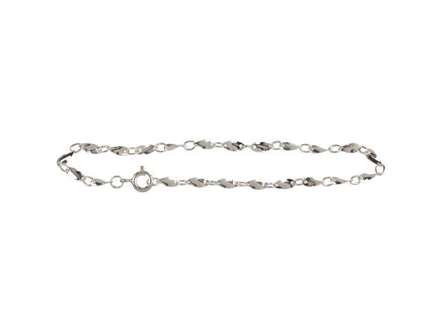 Silver Plated Metal Findings-Small Bracelet 7