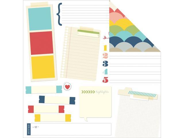 Sn@P! Life Documented Double-Sided Cardstock 12