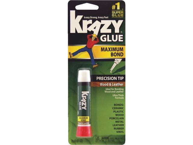 Wood/Leather Krazy Glue Elmer's Super Glue KG82148R 070158000214