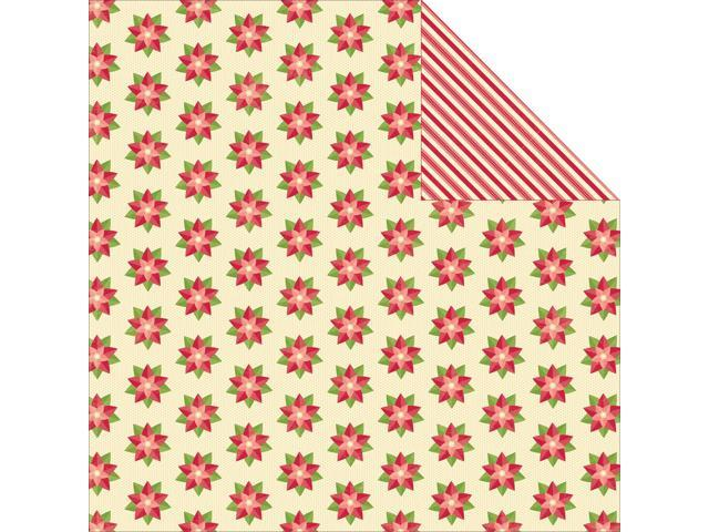 Holly Berry Borscht Double-Sided Cardstock 12