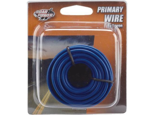 Woods Ind. 16-1-12 PVC-Coated Primary Wire-24' 16GA BLUE AUTO WIRE