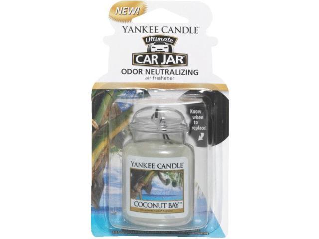 Yankee Candle Car Jar Ultimate Car Air Freshener-COCONUT CAR JAR ULTMT