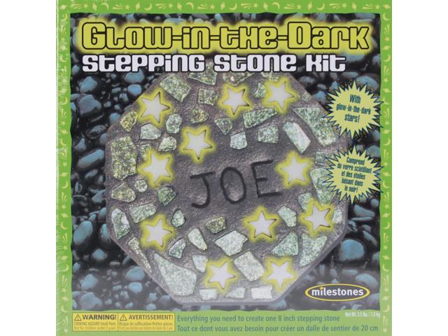 Mosaic Stepping Stone Kit-Glow-In-The-Dark