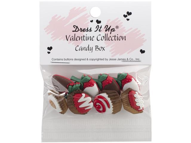 Dress It Up Holiday Embellishments-Candy Box