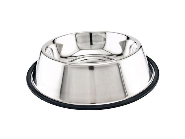 Stainless Steel Non-Skid Dish 64Oz-
