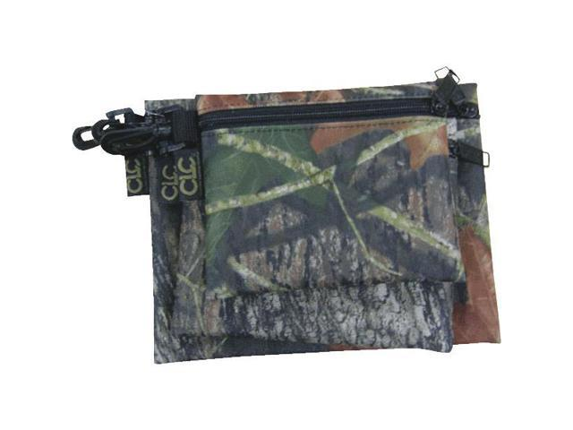 Custom Leathercraft 1100M 3 Zipper Storage Bags-3PK MOSSY OAK BAGS