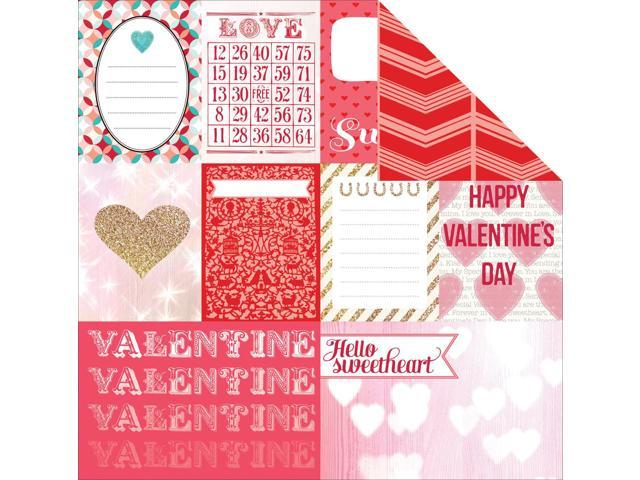 Lucky In Love Double-Sided Cardstock 12