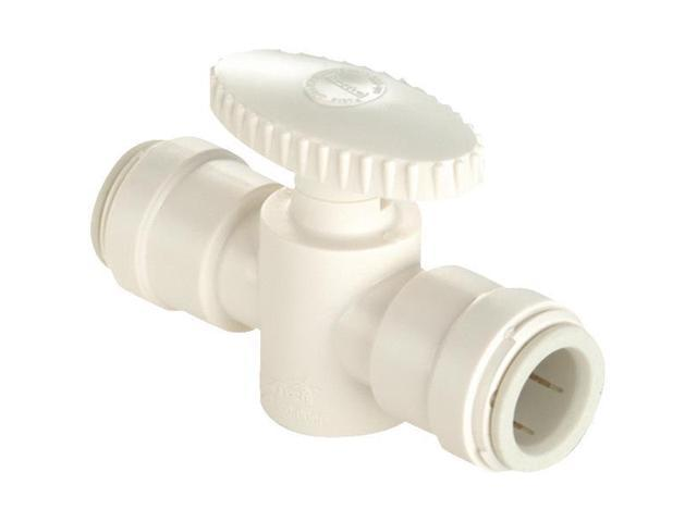 Watts P-650 Quick Connect Straight Stop Valve-1/2