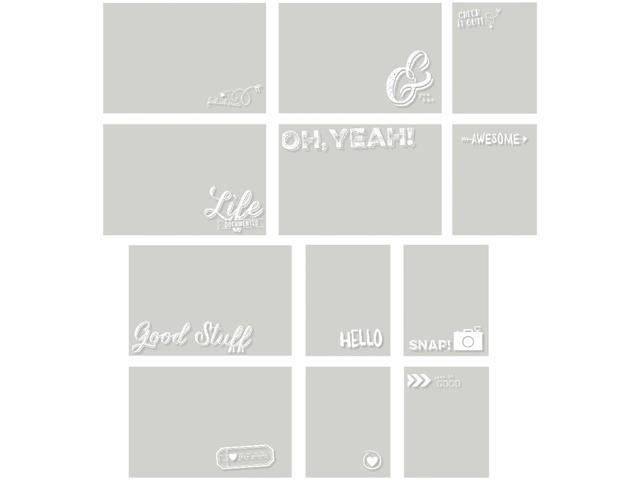 Sn@P! Life Documented Photo Overlays 12/Pkg-(6) 4