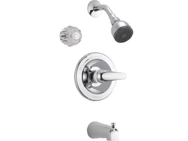 Peerless Single Handle Tub And Shower Faucet-CHROME TUB/SHOWER FAUCET