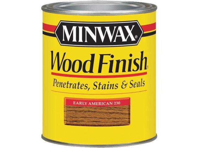 Minwax 1 Quart Early American Wood Finish Interior Wood Stain 70008