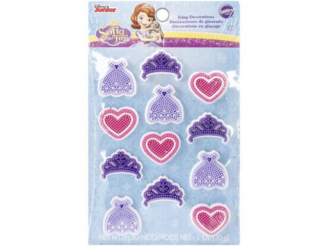 Royal Icing Decorations 12/Pkg-Sofia The First