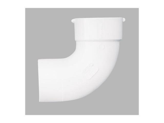 4In PVC S and D 90Deg Street Elbow GENOVA PRODUCTS INC Pvc-S&D Elbows 42940