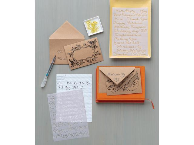 Calligraphy Hand Lettering Kit-