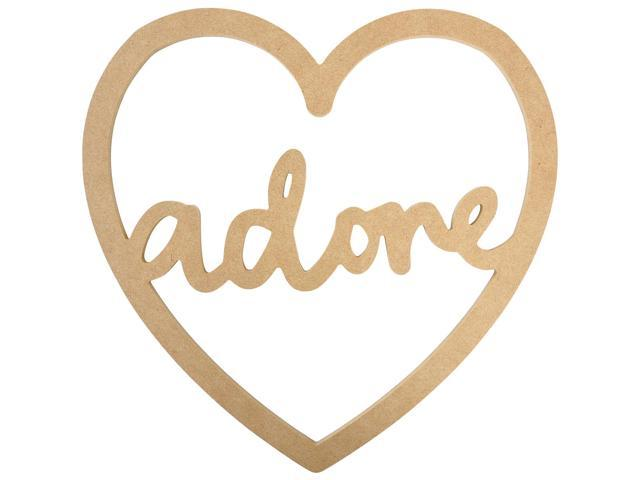Beyond The Page Mdf Adore Script Heart-10.5