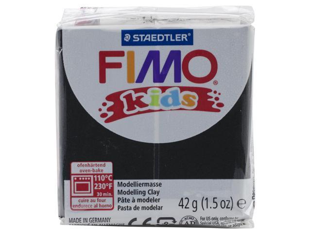 Fimo Kids Soft Polymer Clay 1.5Oz-Black