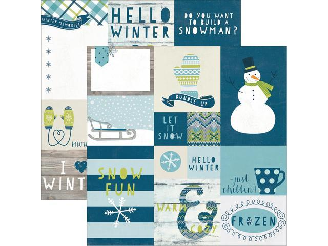 Simple Sets Snow Fun Double-Sided Elements 12