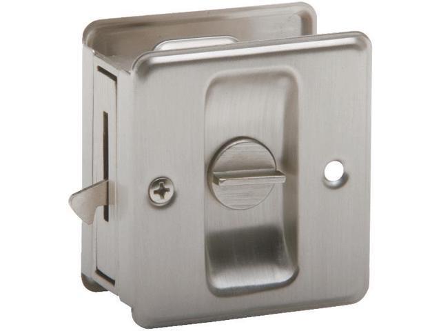 Schlage Lock SC991B-619 Pocket Door Pull-SN PRIV POCKET DOOR PULL