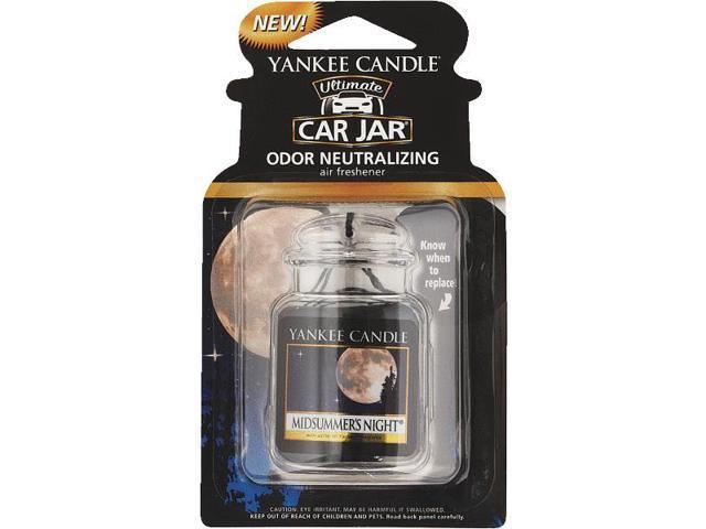 Yankee Candle Car Jar Ultimate Car Air Freshener-MIDSUMNITE CAR JAR ULTMT