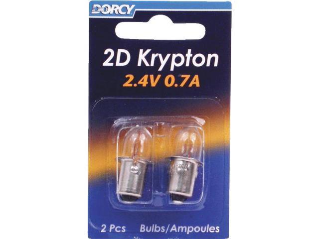 Dorcy International 41-1660 Krypton Bulb-2CD 2D KRYPTON BULB