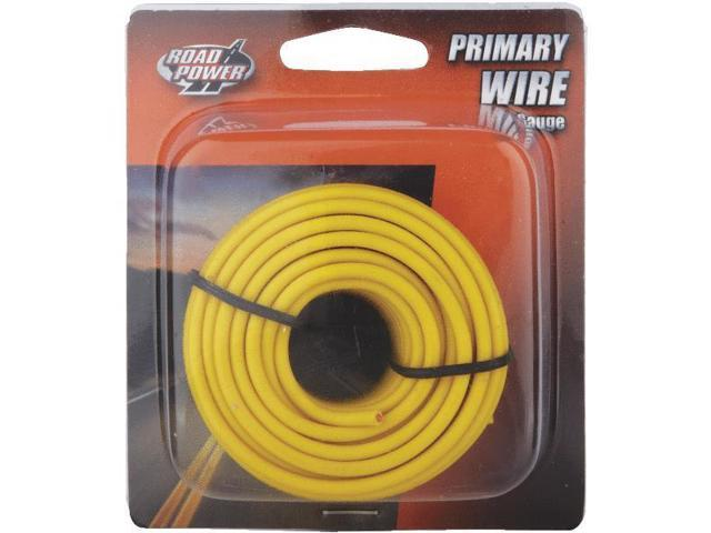 Woods Ind. 16-1-14 PVC-Coated Primary Wire-24' 16GA YEL AUTO WIRE