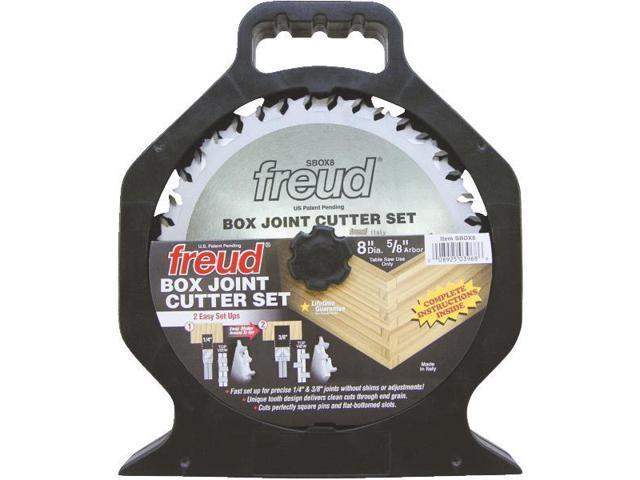 Freud Inc SBOX8 Box Joint Cutter Set-8
