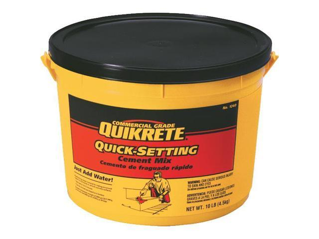 Quick Setting Cement : Quikrete quick setting cement lb set