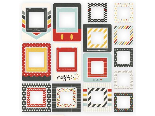 Say Cheese Ii Chipboard Frames 24/Pkg-