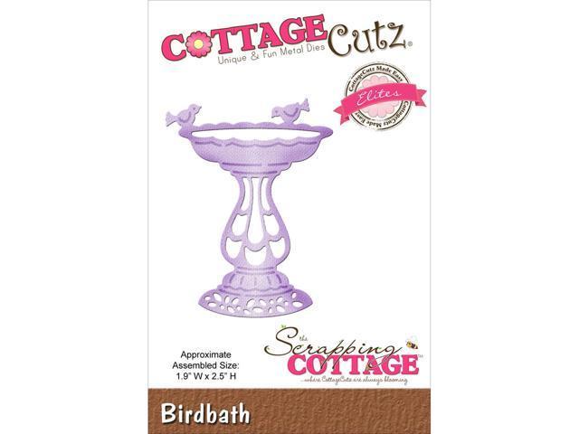 Cottagecutz Elites Die-Birdbath 1.9