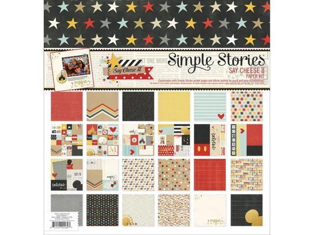 Simple Stories Paper Pack 12