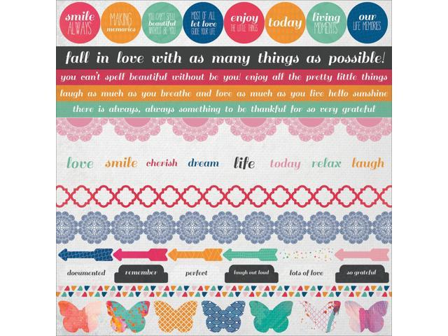 Chase Rainbows Cardstock Stickers 12
