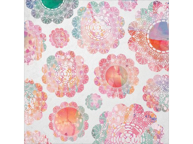Chase Rainbows Spot Varnish Cardstock 12