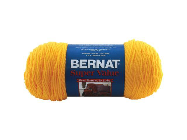 Super Value Solid Yarn-Bright Yellow