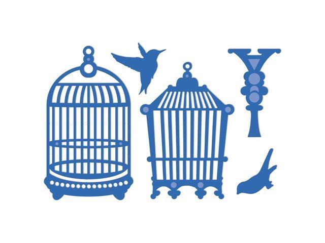 Kaisercraft Die-Birds & Cages 3