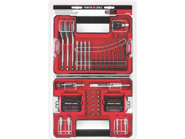 Porter-Cable PCDD88 88-Piece Drilling and Driving Accessory S