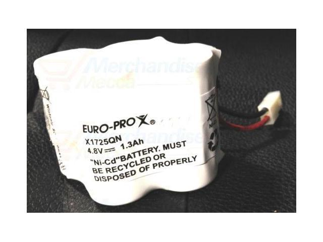 Shark Euro-Pro V1700Z Replacement X1725QN Battery Pack # EU-36110