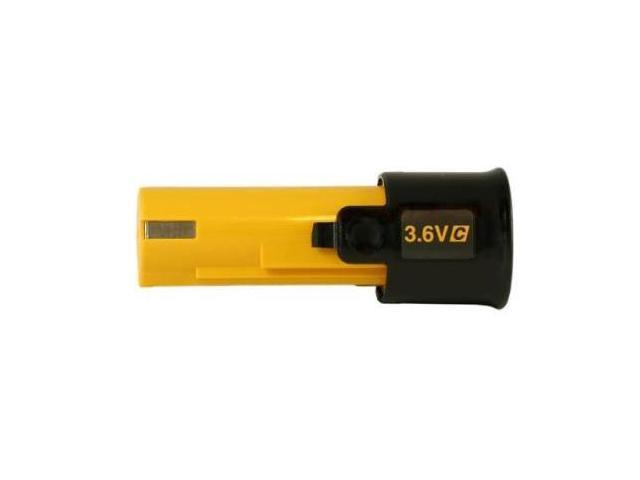 PANASONIC EY9025B Battery Pack, 3.6V, NiCd, 1.2A/hr.