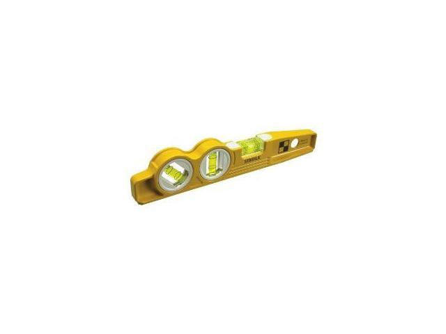 Stabila 25245 10-Inch Die-Cast Magnetic Torpedo Level with 45 Degree Vial