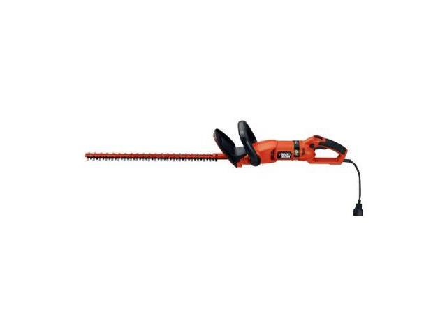 Black & Decker HH2455 24-Inch HedgeHog Hedge Trimmer With Rotating Handle And Dual Blade Action Blades